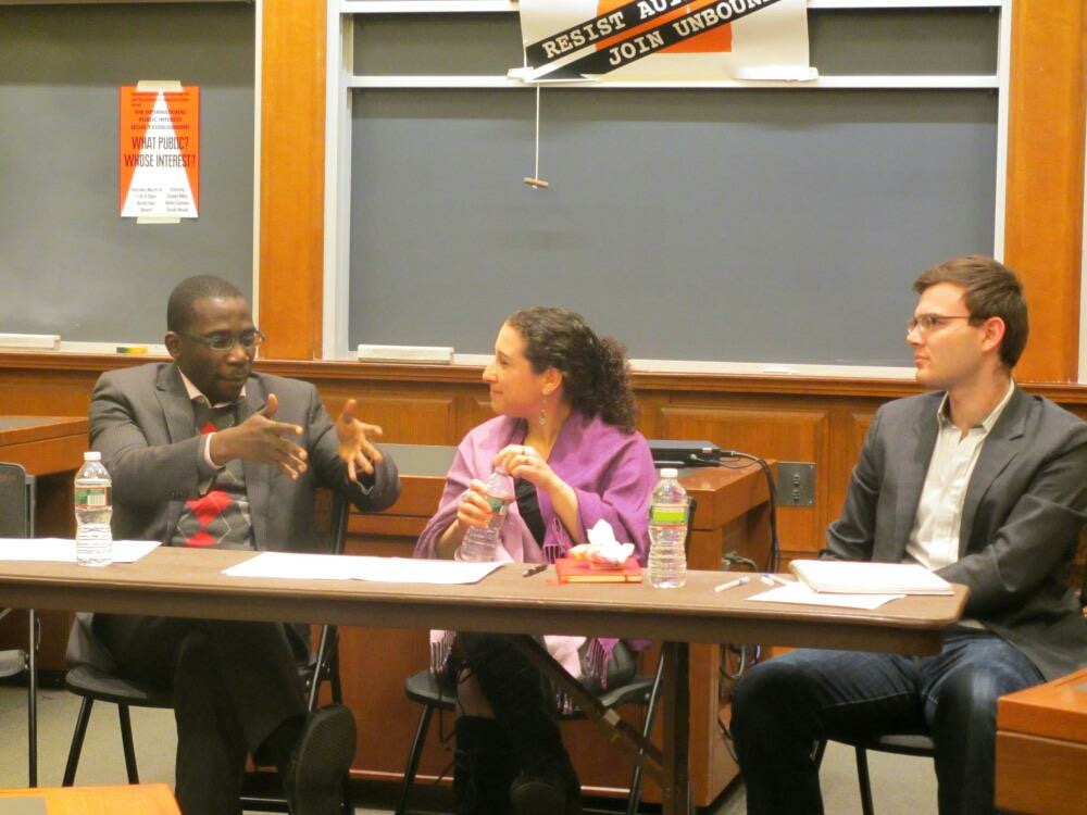 Aminu Gamawa at Harvard Law School