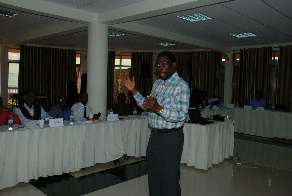 Aminu Gamawa in Rwanda
