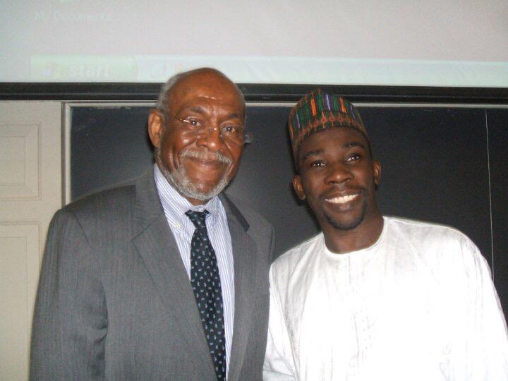 Aminu Gamawa at Harvard University