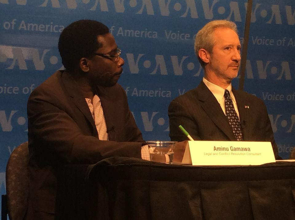 Aminu Gamawa at VOA