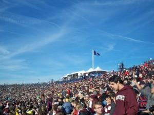 Yale Bowl, Harvard-Yale 2011