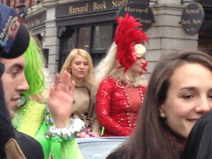 Claire Danes in the WOY Parade.