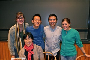 Us with pastry chef and Harvard alum, Joanne Chang!