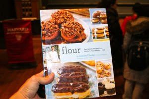 "Joanne's recipe book, ""Flour: Spectacular Recipes from Boston's Flour Bakery + Cafe"""