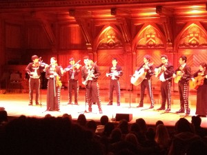 Mariachi Veritas performing in Sanders Theatre