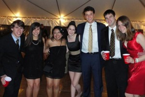 Me and most of our HoCo board at our 2011 Spring Formal