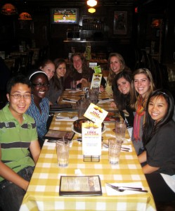 Office of International Education's 2009-2010 student advisors