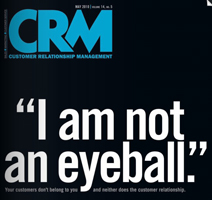 CRM Magazine cover May 2010