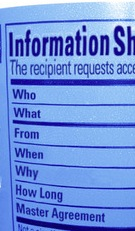 Information Sharing Label