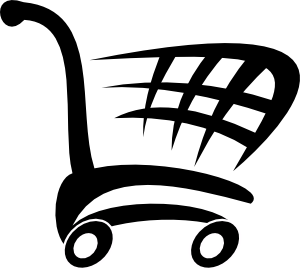 racing shopping cart