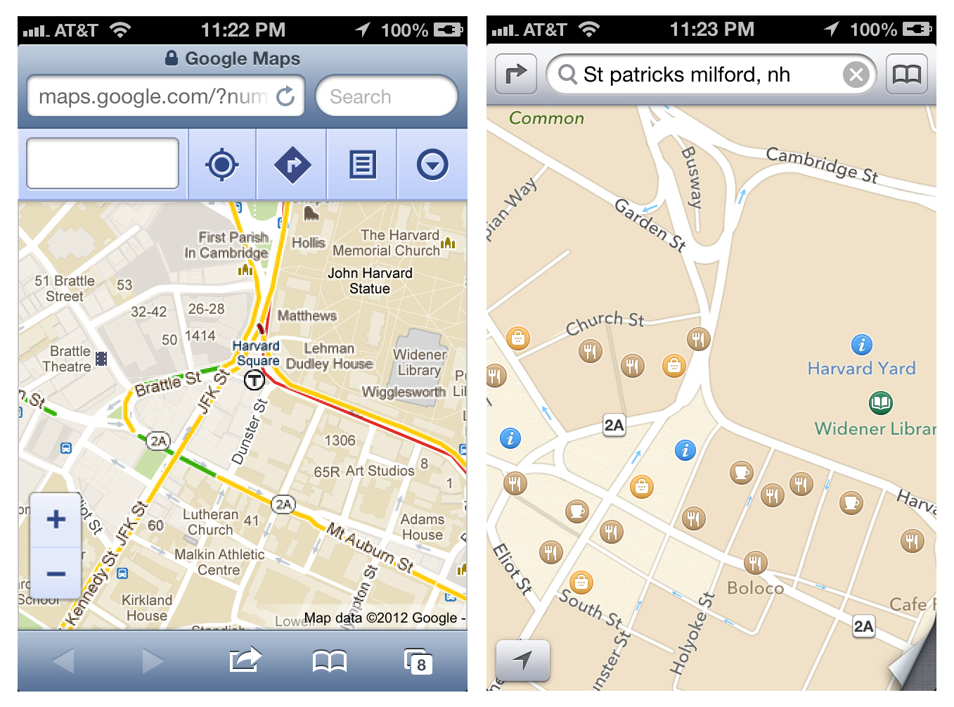 Doc searls weblog maybe were the only hope for apple maps maybe were the only hope for apple maps gumiabroncs Images