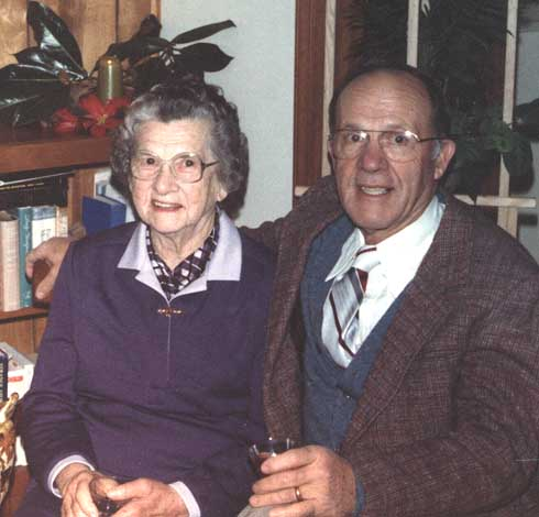Uncle Chris and his mom, Granny Crissman