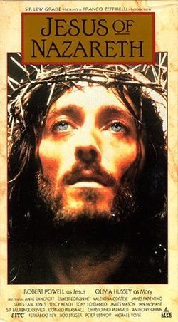 To me the best movie ever made about Jesus is Franco Zeferelli's, now in HD on YouTube.