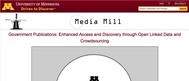 Government Publications: Enhanced Access and Discovery through Open Linked Data and Crowdsourcing