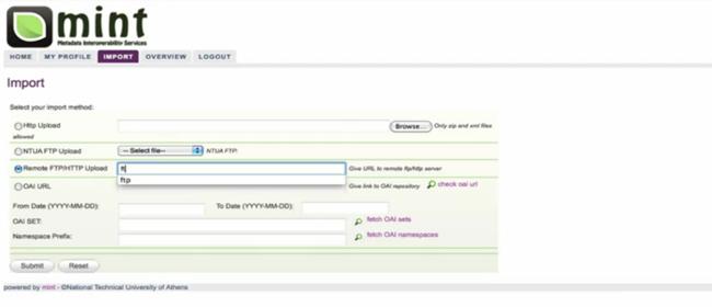 Metadata Interoperability Services