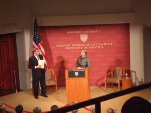 the Will and the Way Forward at John F. Kennedy Jr. Forum, Harvard