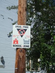 Keeping our neighborhood drug-free