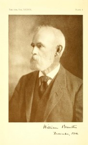 Photo of William Brewster in The Auk, Volume 37, 1920