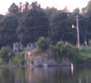 former Burr Bridge abutment at Washington Ave. Scotia, NY