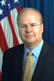 Official portrait of Karl Rove