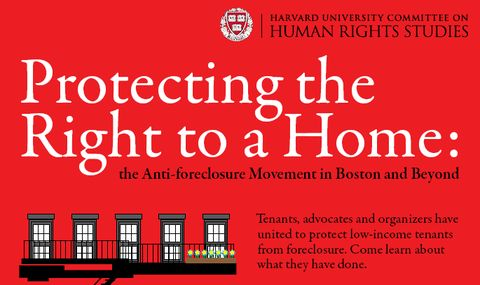 Logo of the protecting Right to Housing Conference