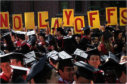 HLS No Layoffs @ Harvard Coimmencement