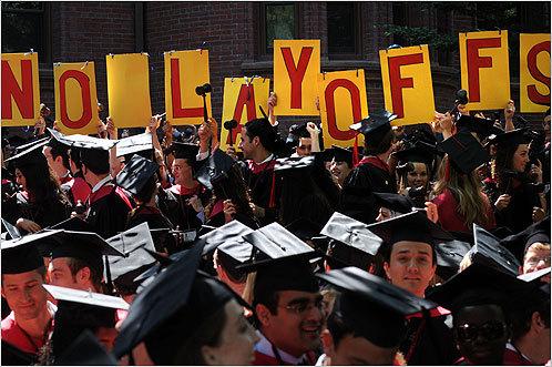 HLS No Layoffs @ Harvard Coimmencement