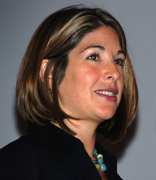 Naomi Klein [Photo: Wikimedia Foundation]
