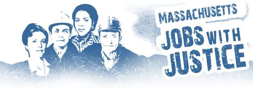 Mass Jobs with Justice Logo