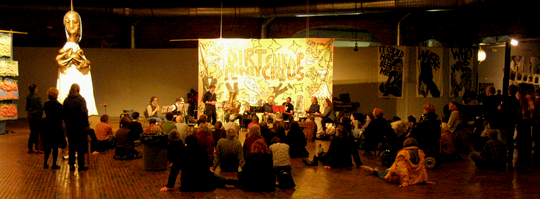 Artists Reception - Bread and Puppet Theater @ Cyclorama