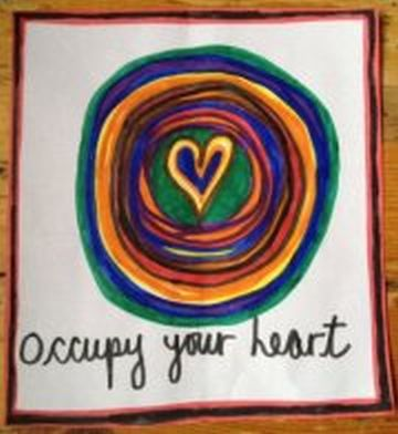 Occupy Your Heart Design by Laura Evonne Steinman