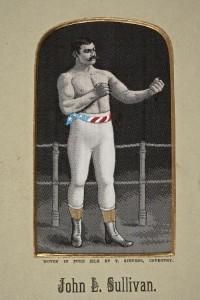 John L. Sullivan embroidery