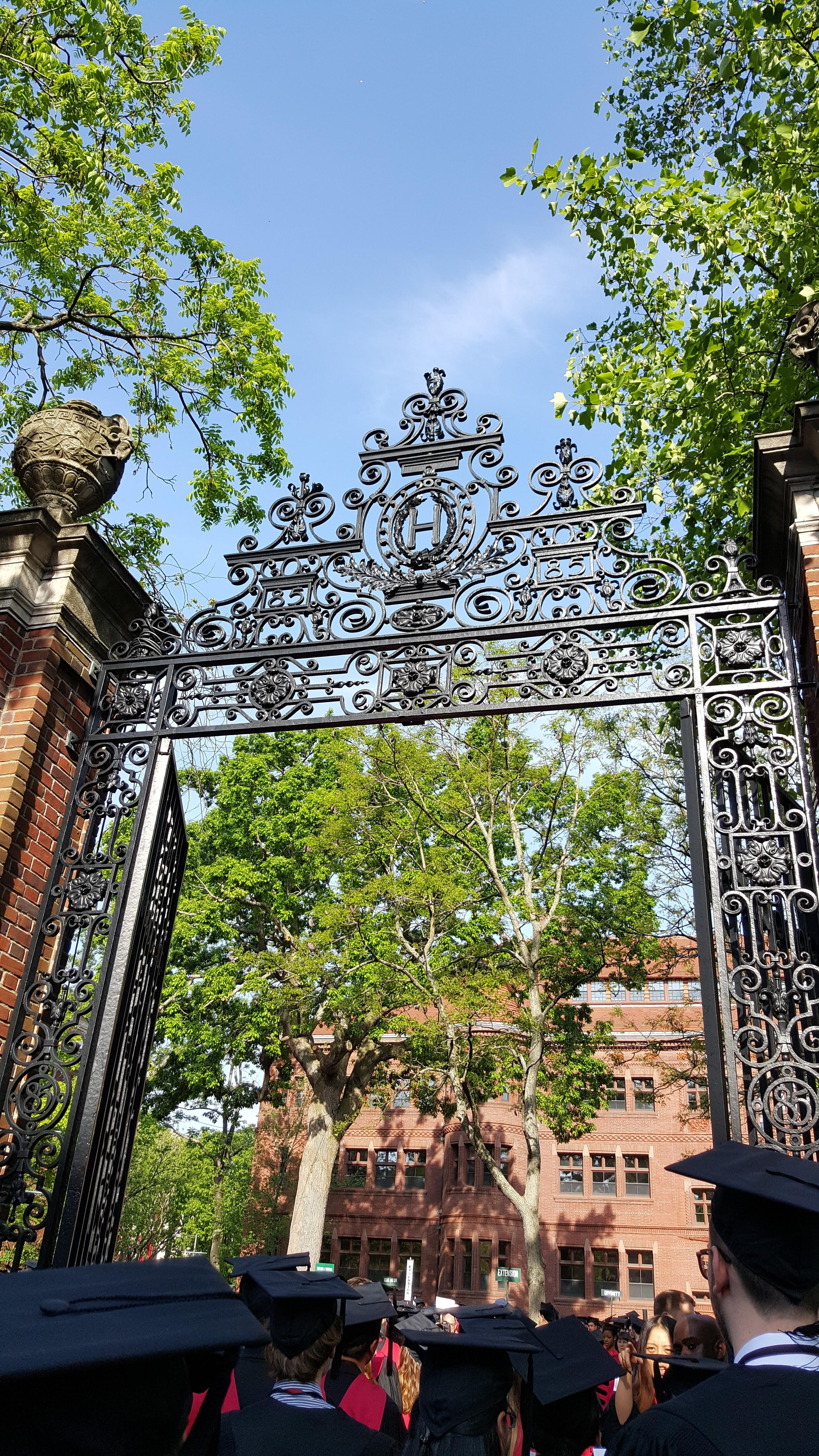 Last walk at Harvard Yard as a student