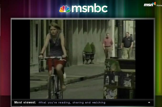 MSNBC coverage NOLA SMS Crime Alert