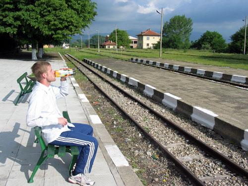 A.M. O.J. on the narrow gauge, Bulgaria