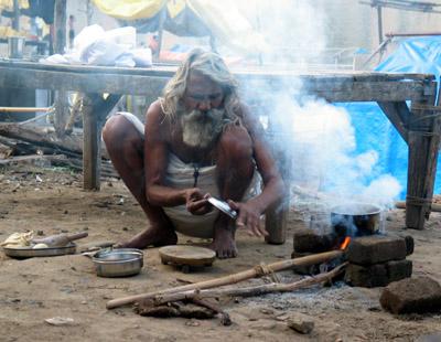Dinner Preparations, Omkareshwar