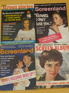 Fan Magazines Featuring Elizabeth Taylor