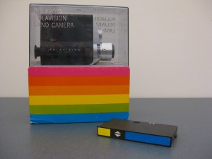 Polavision camera and cartridge