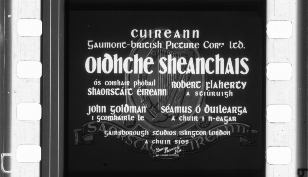 2 OIDCHE SHEANCHAUS title card one frame