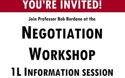 1L Fall Info Session HLS Negotiation Workshop 2015 Poster