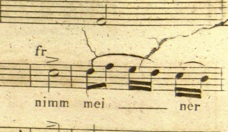 Der Freischutz, p. 92, impression 3. Houghton Library *fMus.W3883 F.1821 (B)