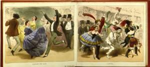 Les Bals De Paris (1854) plates 6-7, GV1650.P3 B3 1854