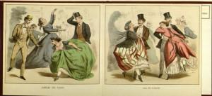 Les Bals De Paris (1860), plates 7-8; GV1650.P3 B3 1860x