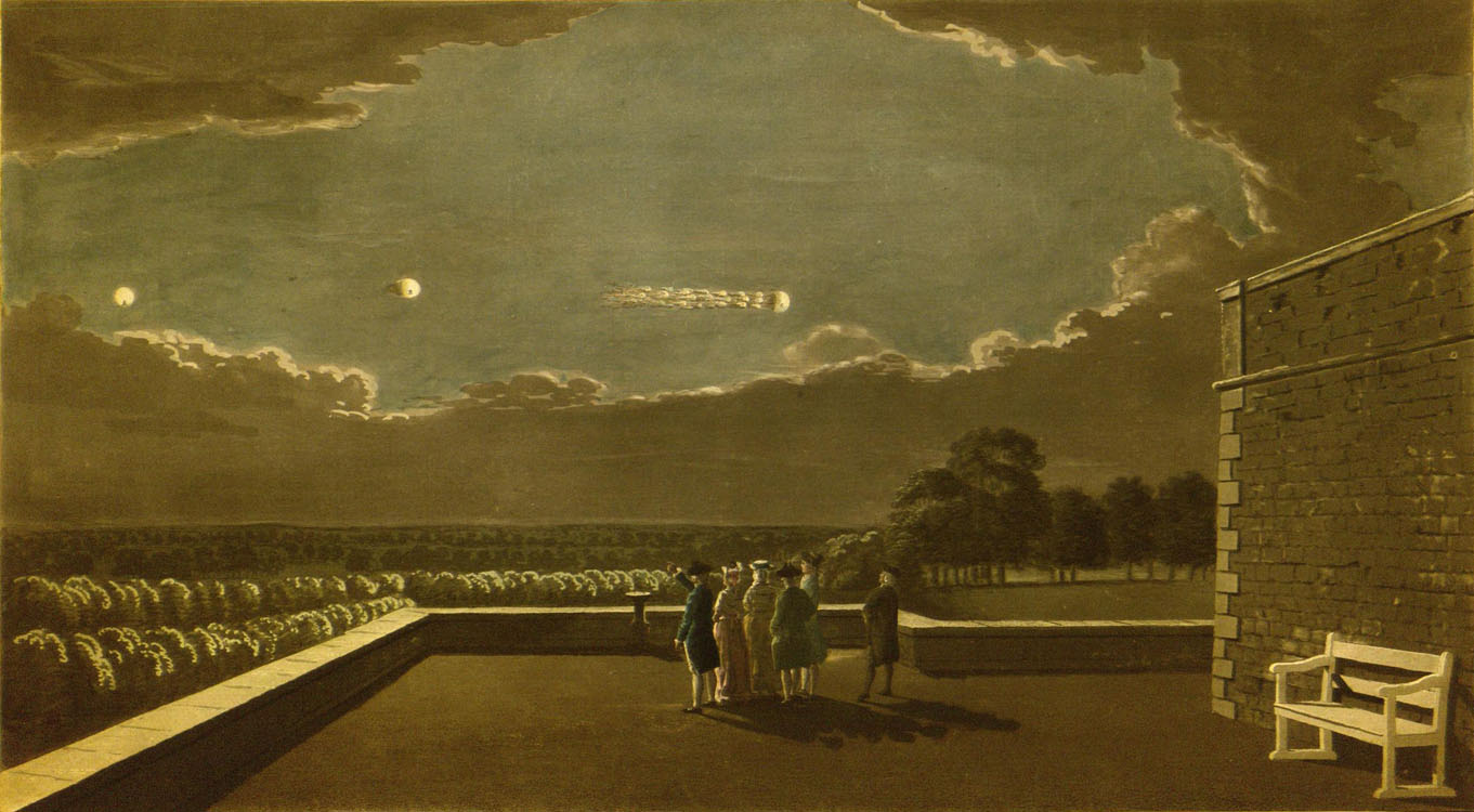 Thomas Sandby. The Meteor of Aug. 18, 1783. *2010-426