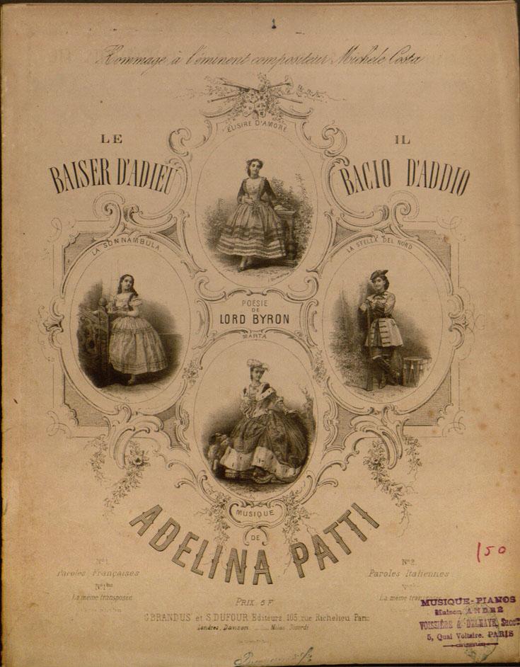 Adelina Patti, Le Baiser d'Adieu, 2010TW-28 (99)