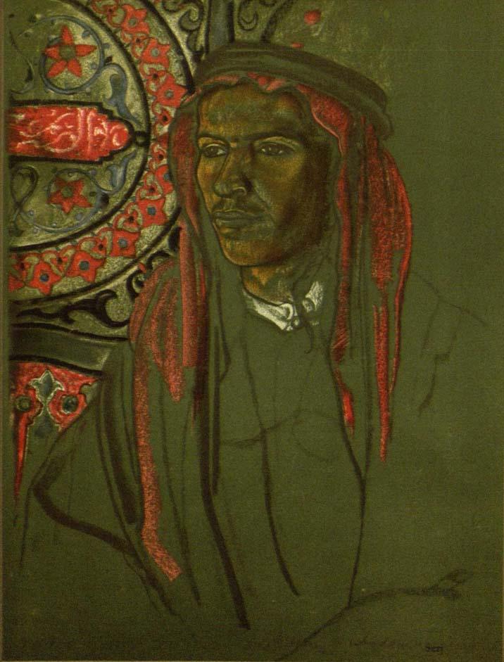 "Eric Kennington, ""Serj"" MS Eng 1658 (10)"