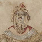 The Rabel drawing as it may have originally appeared (detail)