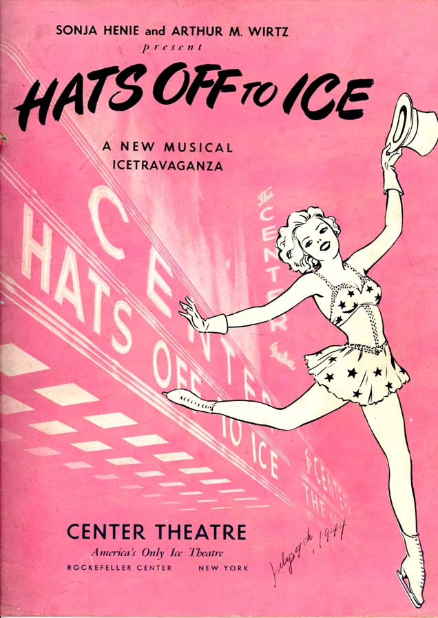 Hats Off To Ice, starring Sonja Henie. MS Thr 601 (8)