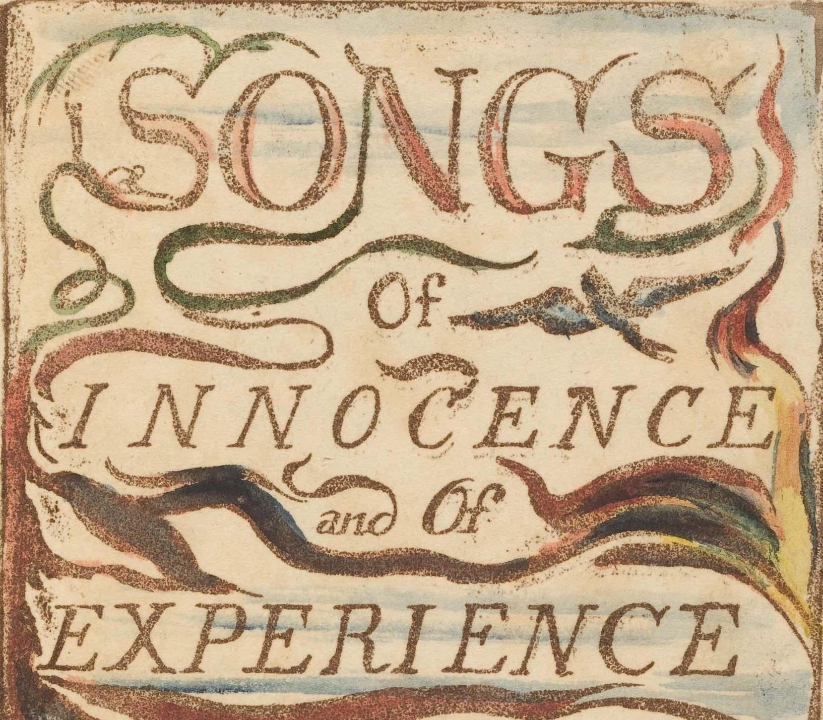 William Blake songs of innocence