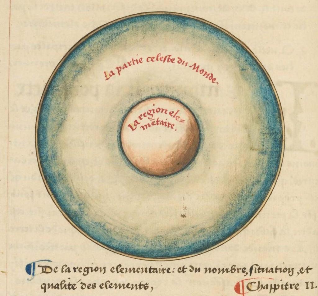 Oronce Fine, Le sphere de monde. MS Typ 57